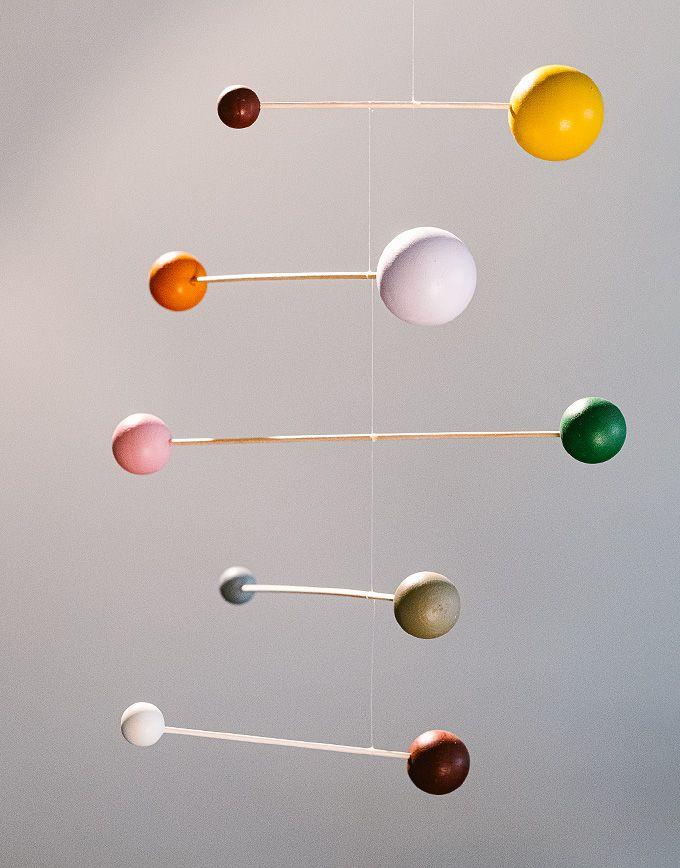 Handgemaakte mobiel - Monika Color