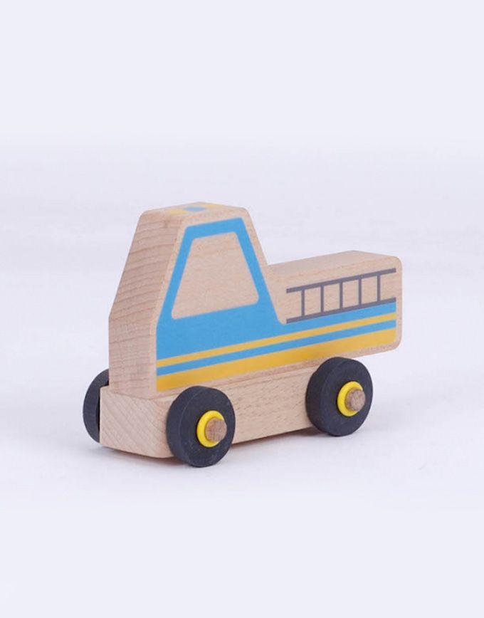 Houten speelgoedauto - Ombouw kit