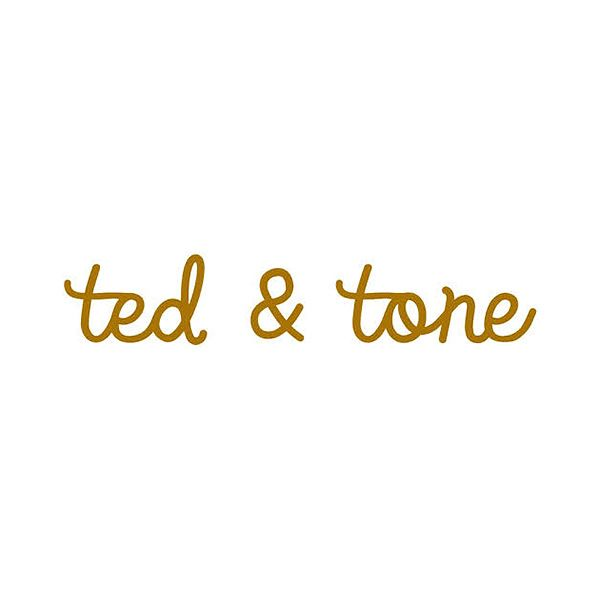 Ted and tone - Logo