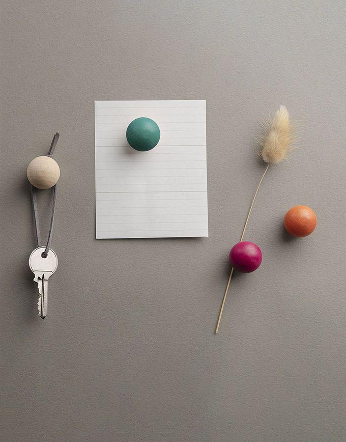 ToutSimplement - Set van 3 houten magneten