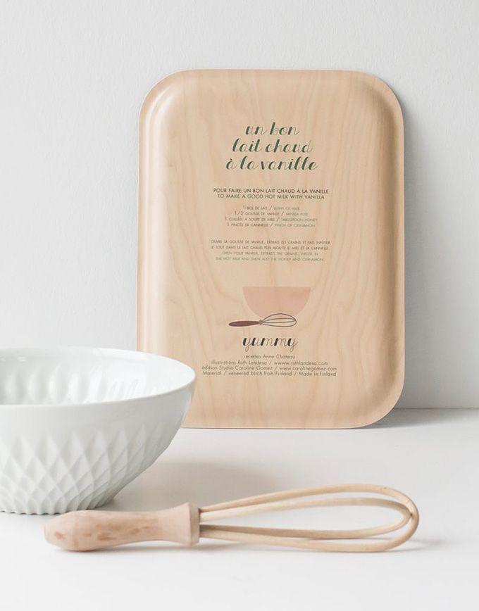 Yummy tray – Hot vanilla milk - Back