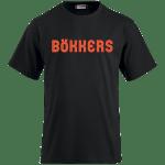 bokkers shirt rode logo