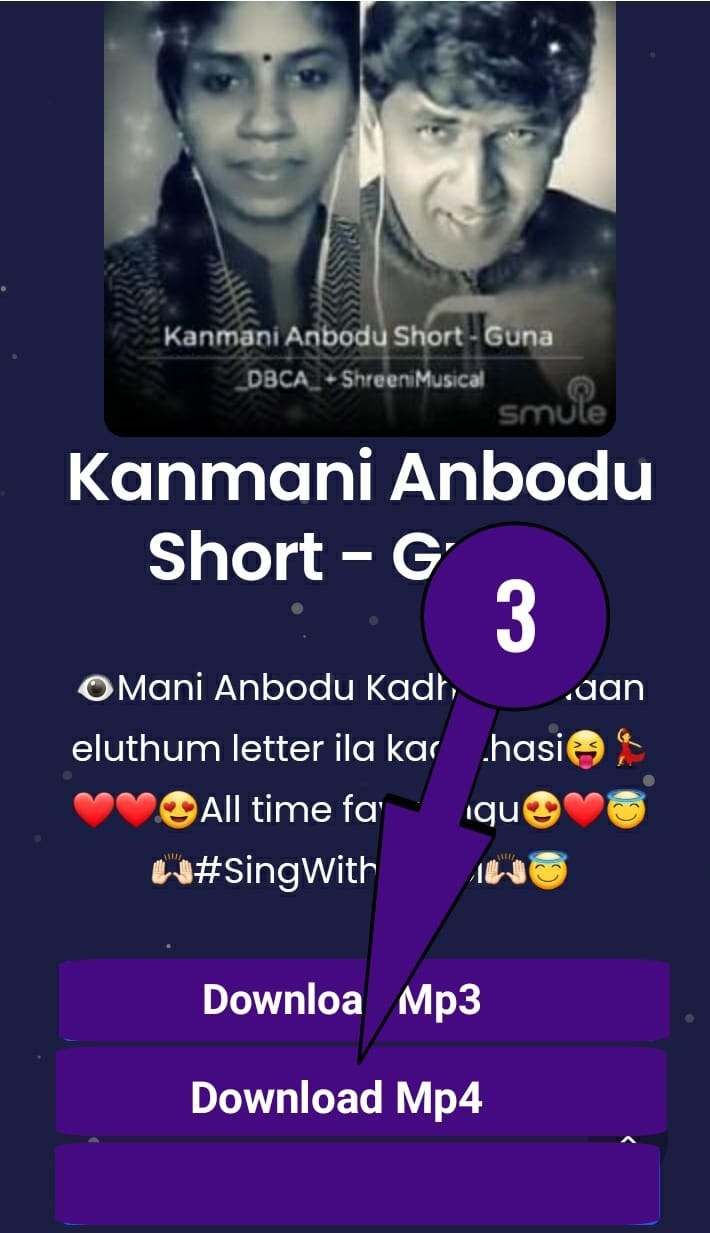 Smule Song Download step 3