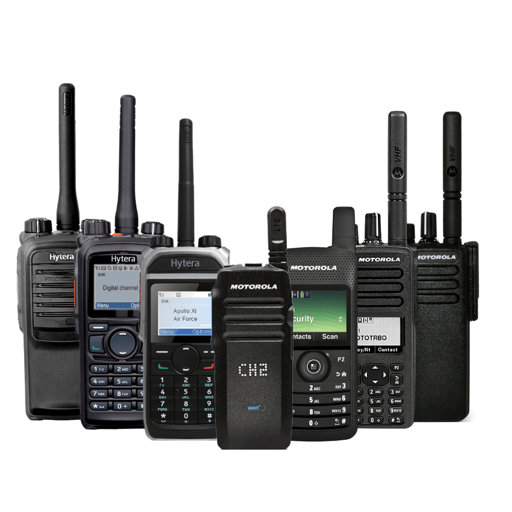 two way radio available for hire and purchase