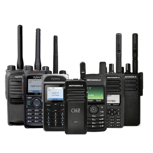 two way radios available for hire and purchase