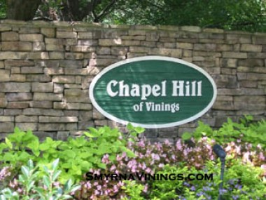 Chapel Hill of Vinings, Vinings Homes
