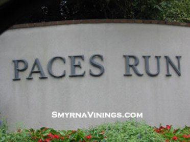 Paces Run Townhomes in Vinings