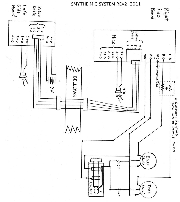 Accordion Microphone Kit