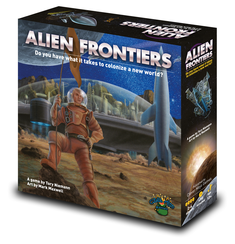 Alien Frontiers Boxed Game