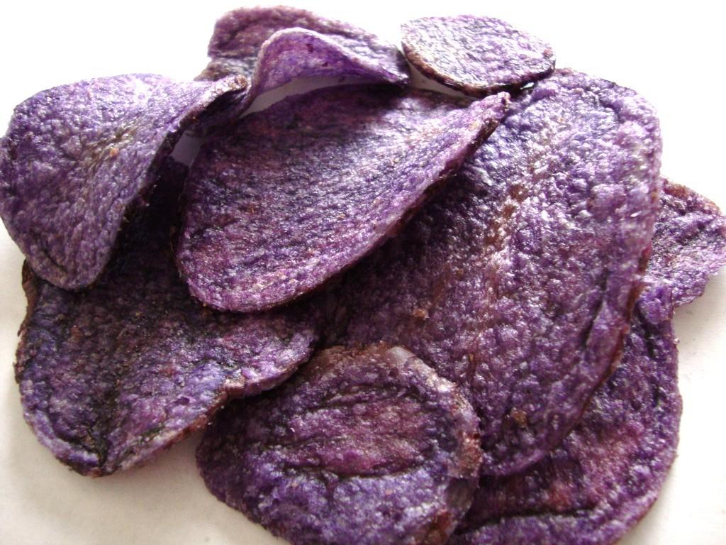 TERRA Blues Potato Chips  SNACKEROO