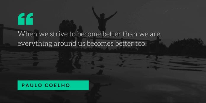 paulo coelho motivational quote