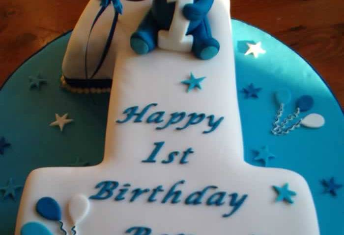91 1st Birthday Cake For A Boy Birthday Boy Very Keen On Cars And