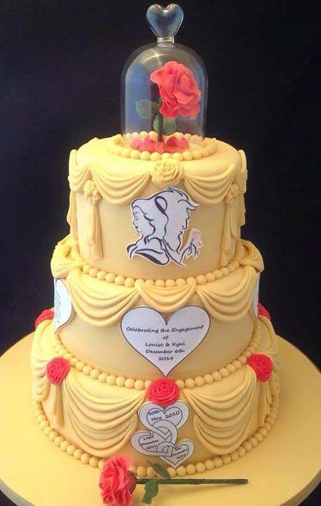 Beauty And The Beast Wedding Cake - The Best Cake Of 2018