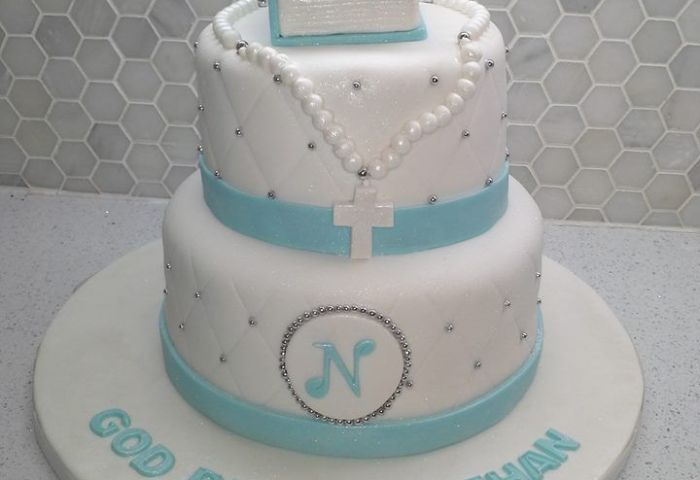 13 Boys Blue First Communion Cakes Photo Boys First Holy Communion
