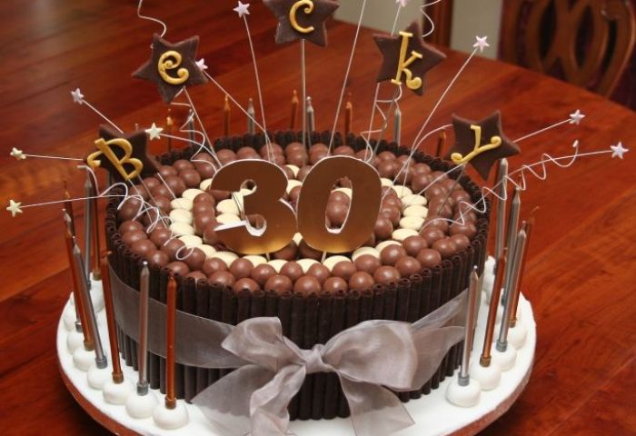 11 30th Birthday Cakes For Guys Photo 30th Birthday Cake Ideas For