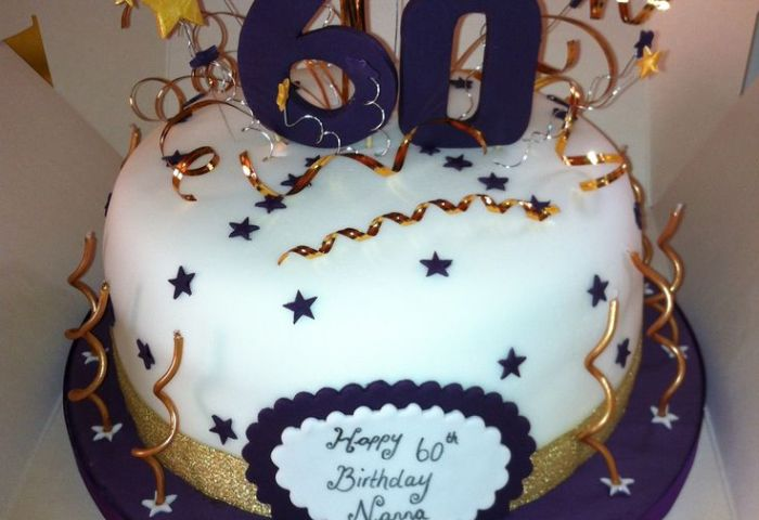 12 Sheet Cakes For 60th B Day Man Photo Over The Hill 60th