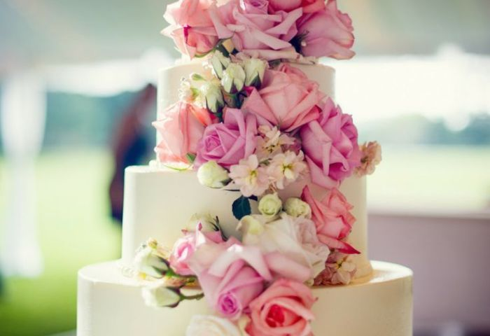12 Beautiful Floral Wedding Cakes Photo Beautiful Wedding Cake