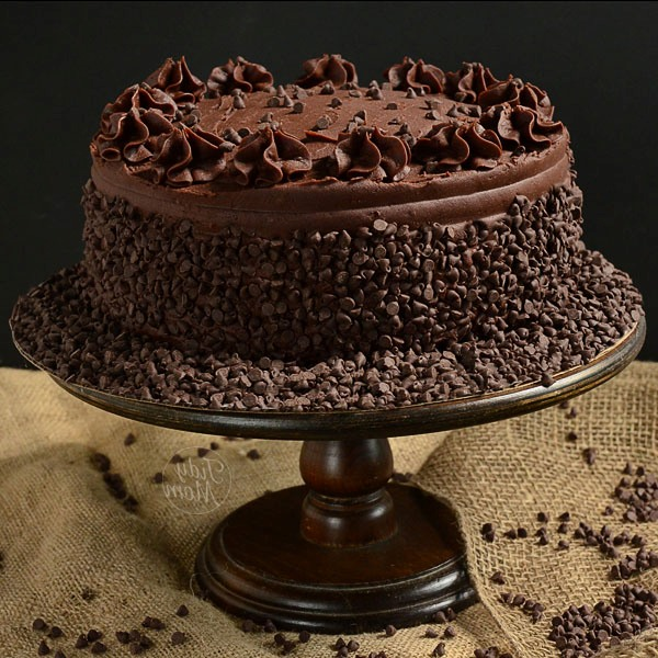 12 Homemade Chocolate Decorating Cakes Photo Chocolate Cake