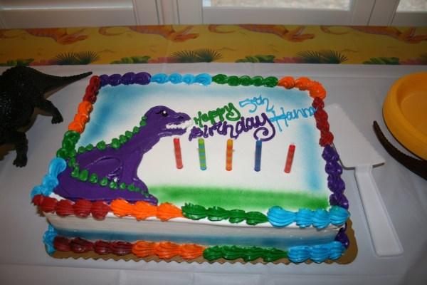 Dinosaur Birthday Cake Publix