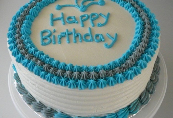 12 Basic Male Birthday Cakes Photo Male Birthday Cake Male