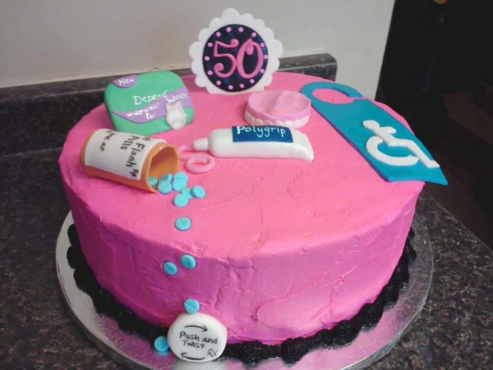 11 Humor 50th Birthday Cakes Photo Happy 50th Birthday Cake