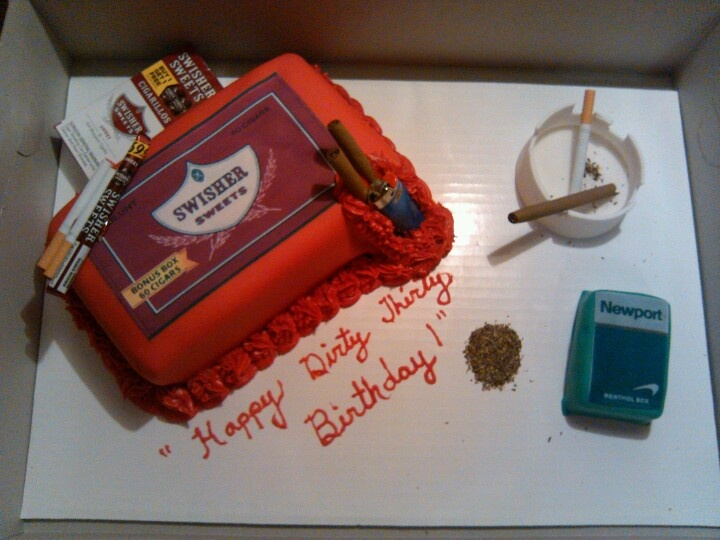 11 Dirty 30th Birthday Cakes Photo Dirty 30 Birthday Cake Ideas