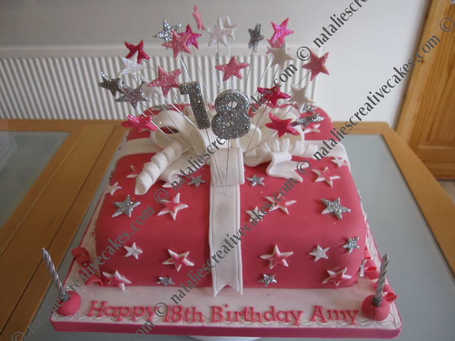 Birthday Cake Designs For 18th Birthday Girl The Cake Boutique