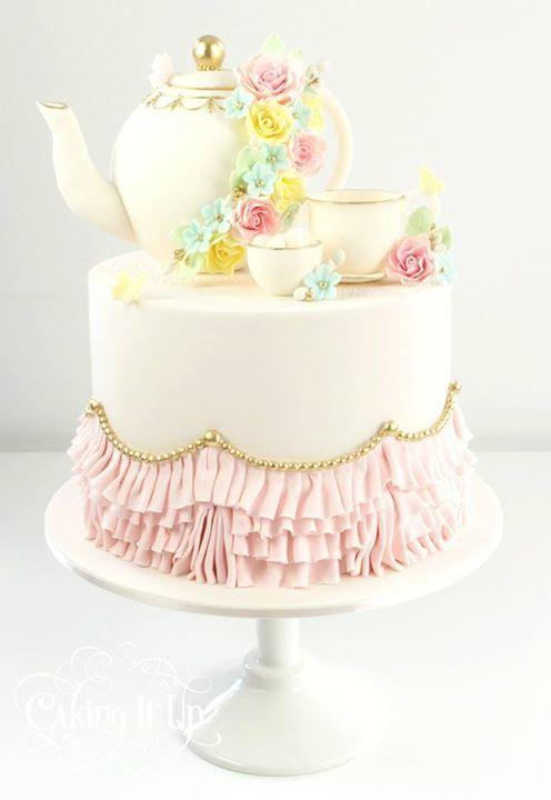12 Mini Wedding Cakes Tea Party Photo Tea Party Petit Fours Mini