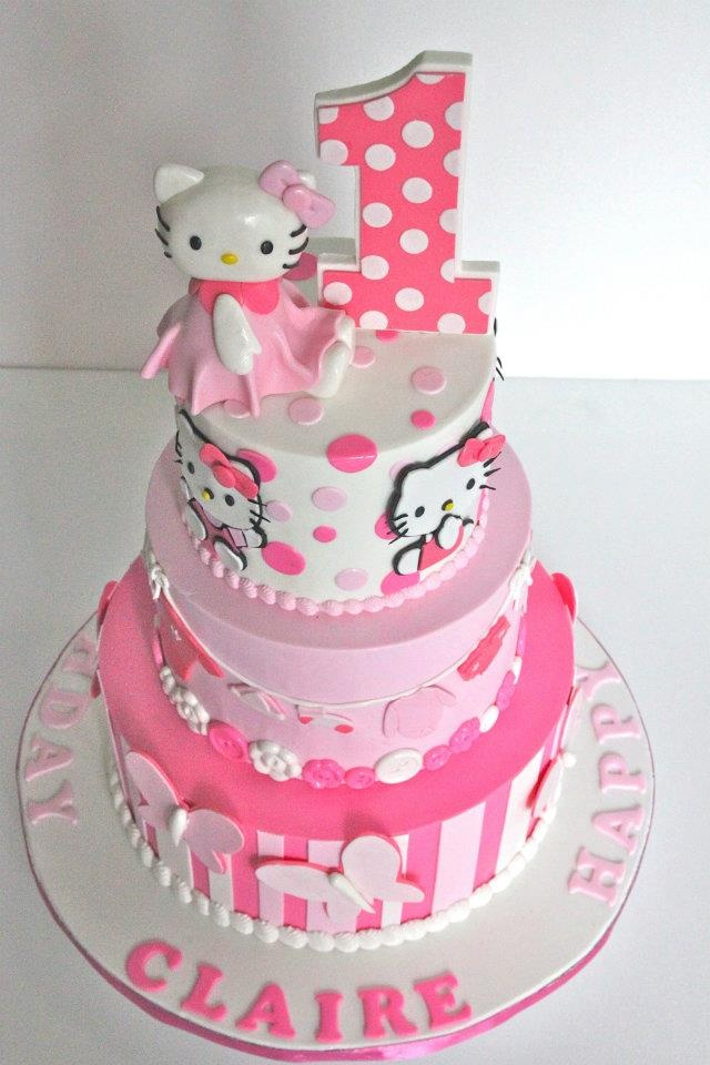 10 Hello Kitty Cakes For Teenagers Photo Hello Kitty Cake