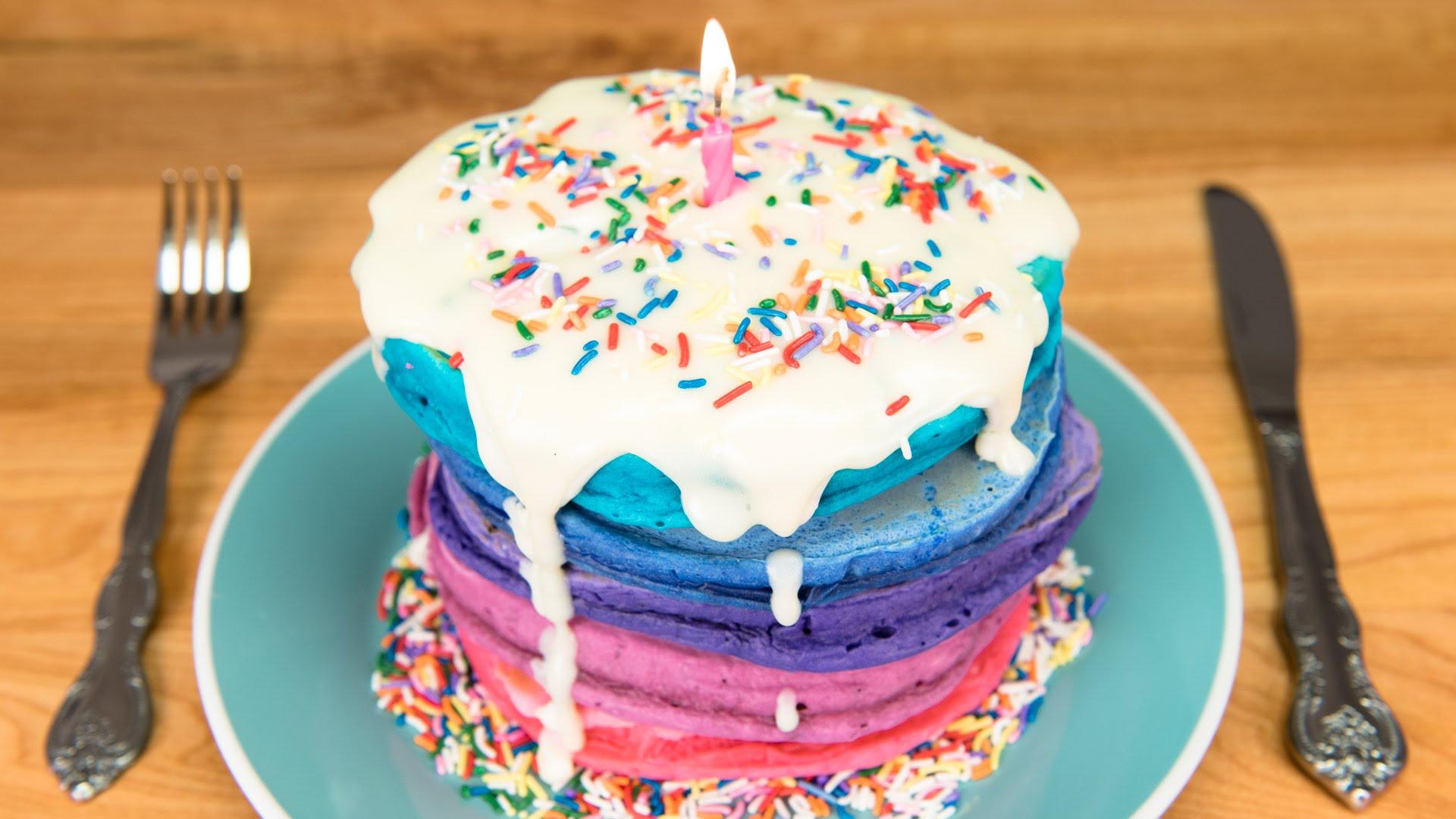 Birthday Cake Pancakes Ihop