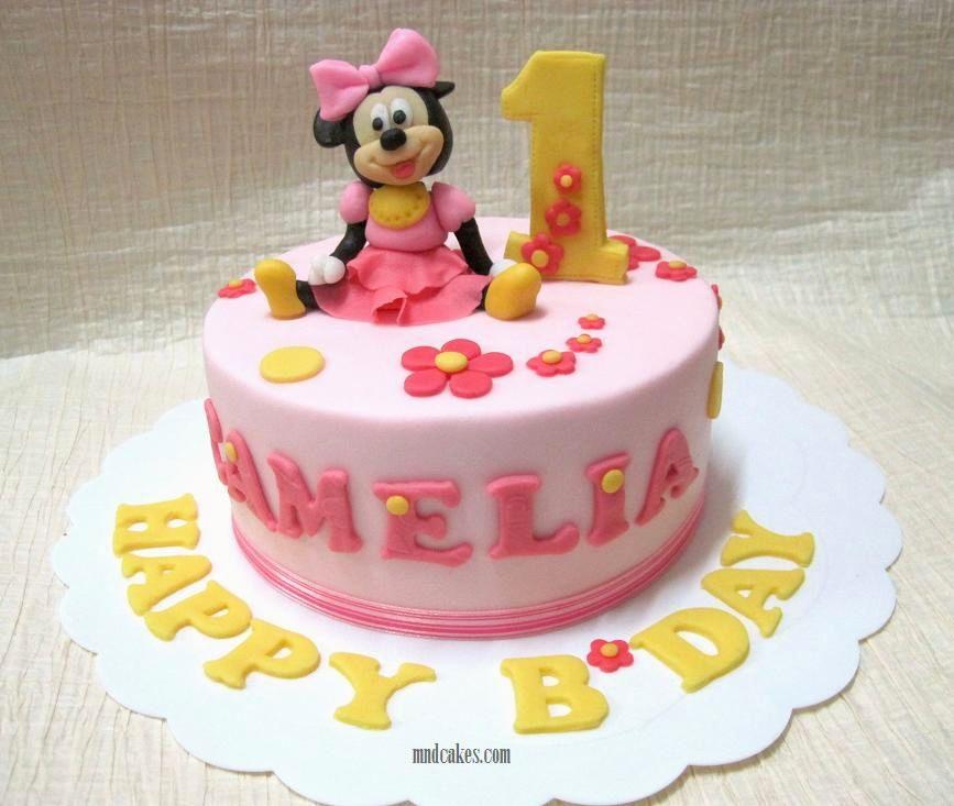 Phenomenal Birthday Cake 1 Year Girl The Cake Boutique Birthday Cards Printable Benkemecafe Filternl