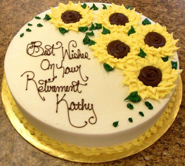 10 Retirement Cakes For Women Photo Retirement Cake Ideas Women