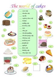 7 Types Of Cakes English Photo British Cakes And Desserts Names