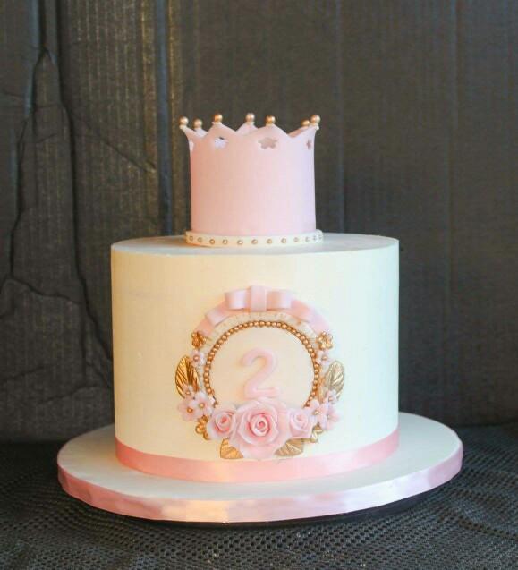 10 Crown Princess Birthday Cakes For Girls Pinterest Photo Girls