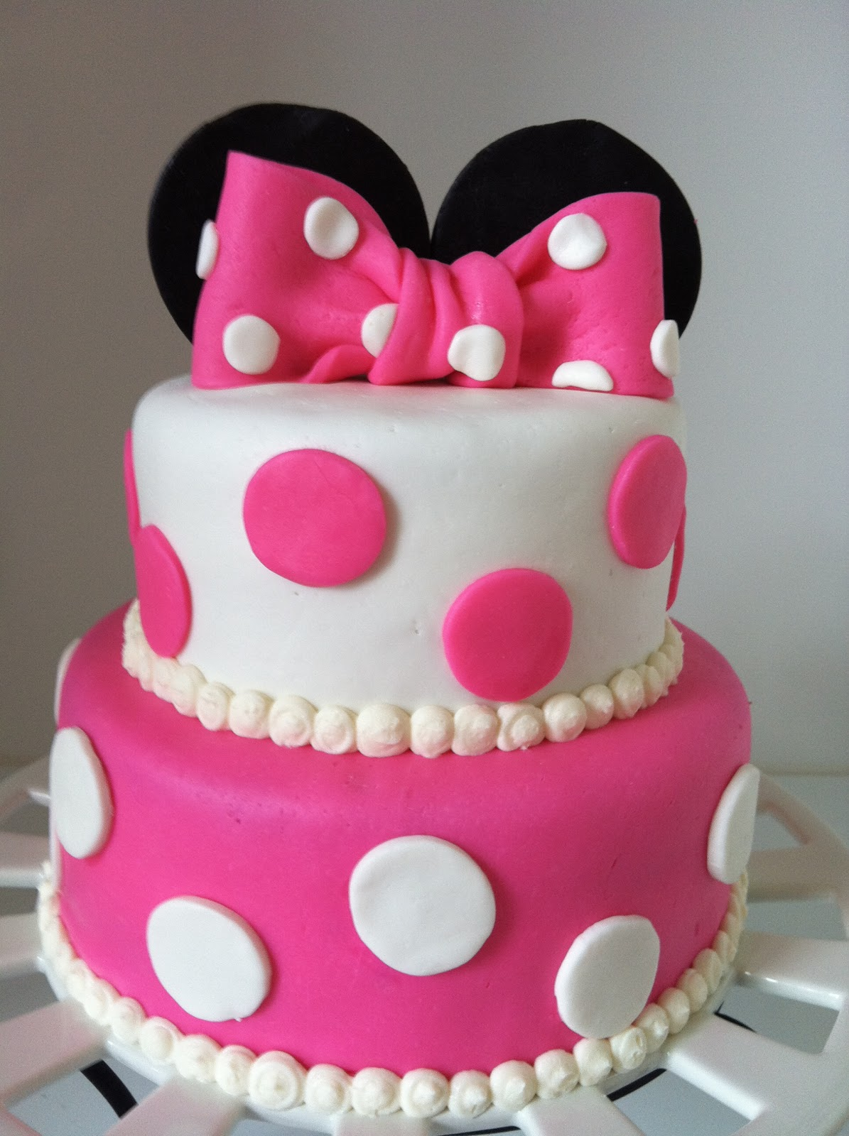 13 2nd Birthday Cakes For Girls Photo Minnie Mouse Birthday Cakes