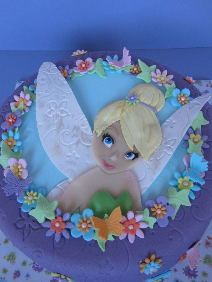 5 Tinkerbell Birthday Cakes For Girls St Louis Photo Girls
