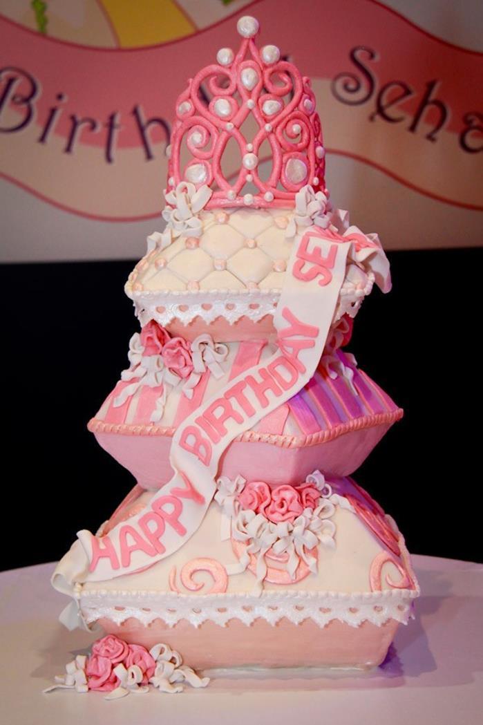 90 Birthday Cake For Little Princess Girl Birthday Cake Ideas