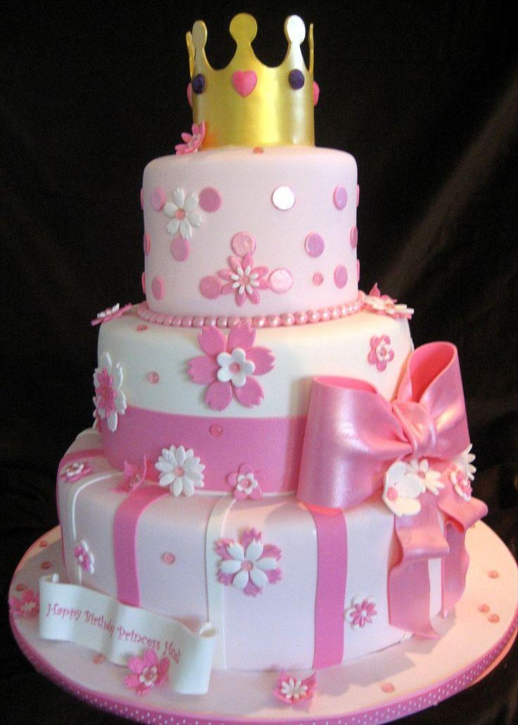 11 Princess Birthday Cakes For Girls Photo Toddler Girls Princess