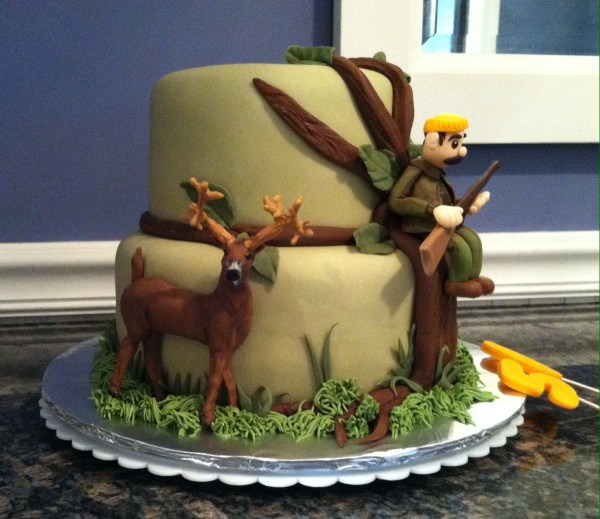 Deer Hunting Cakes Men