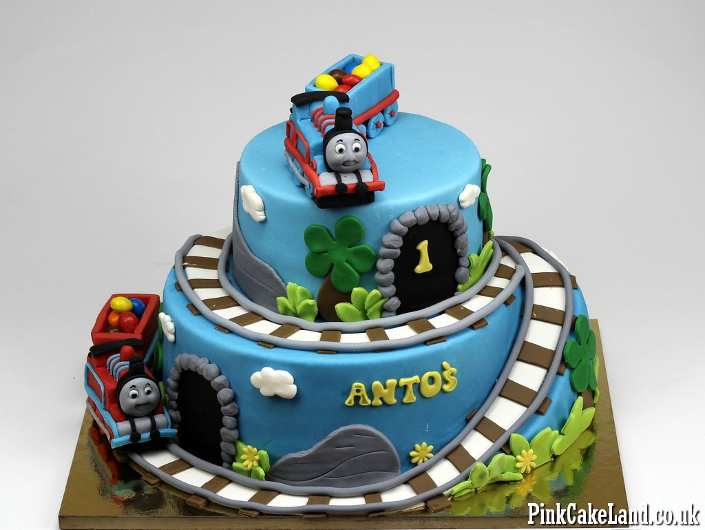 13 Thomas The Train Engine Cakes Photo Thomas Tank Engine Birthday