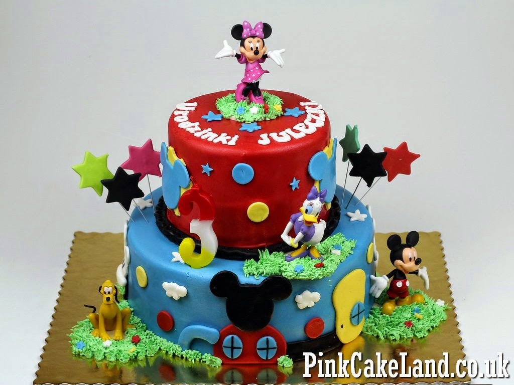 9 Mickey And Minnie Mouse Decorations Birthday Cakes Photo Minnie
