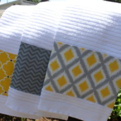 Gray Kitchen Towels Contractor 10 Grey And Yellow Towel Cakes Photo