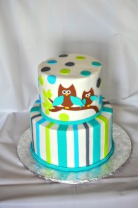 8 For A Boy Baby Shower Cakes With Owls Photo - Owl Baby ...