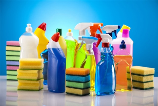 Popular cleaning supplies