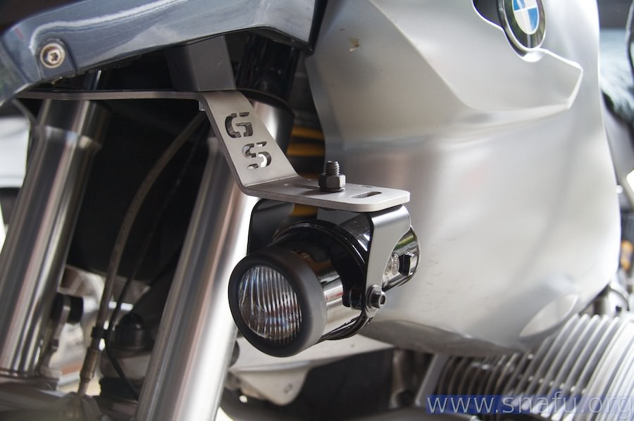 R1200GS Hella Micro DE Fog Lights