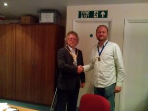 Deputy Town Mayor Cllr Hollas