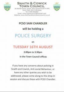Police Surgery 16-08-16