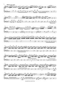 Pisendel – Sonata in E major for violin and continuo (Edition and study, PDF)