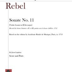 Rebel violin sonata cover