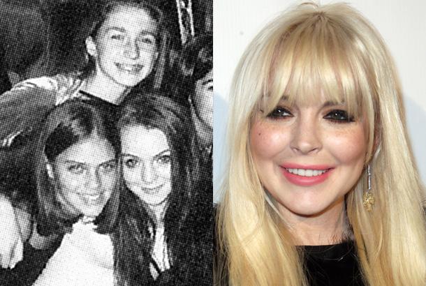Lindsay Lohan Freshman Year Homecoming At Cold Spring